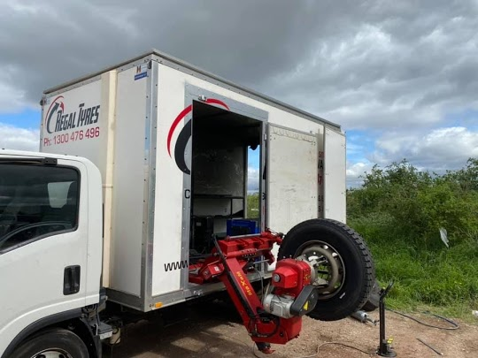 Truck Tyre Puncture
